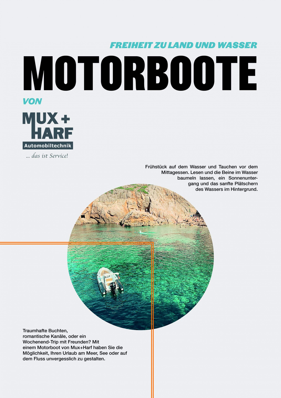 Flyer Motorboote